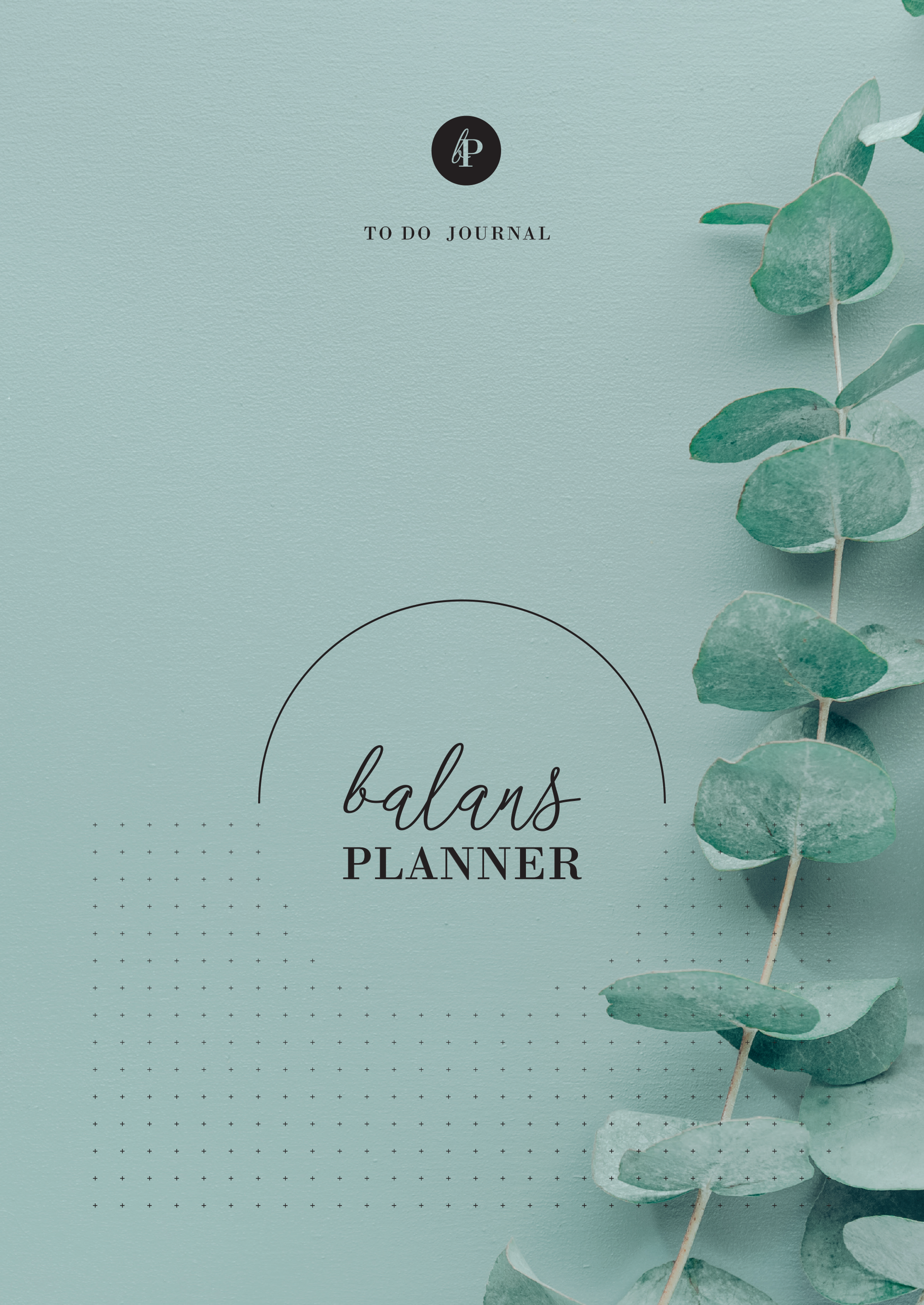 balans planner back to nature