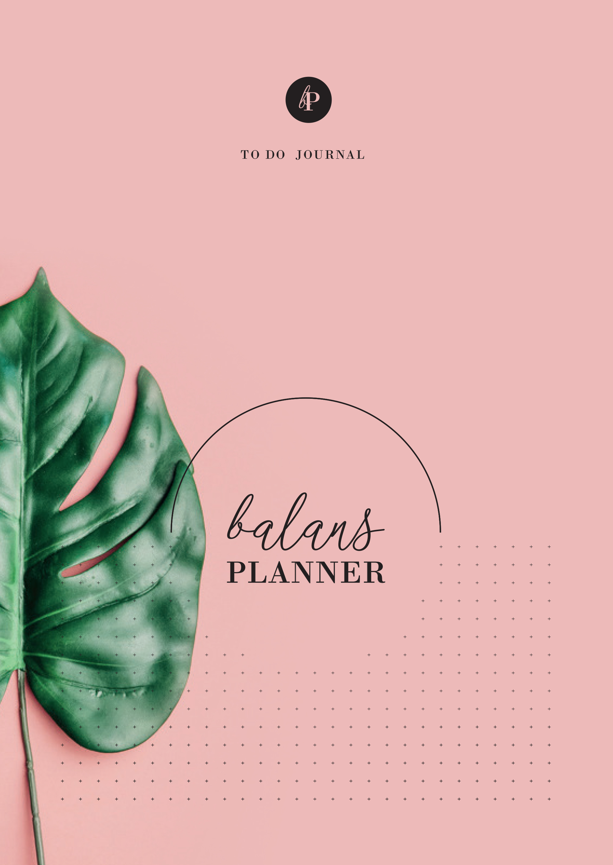 balansplanner pretty in pink