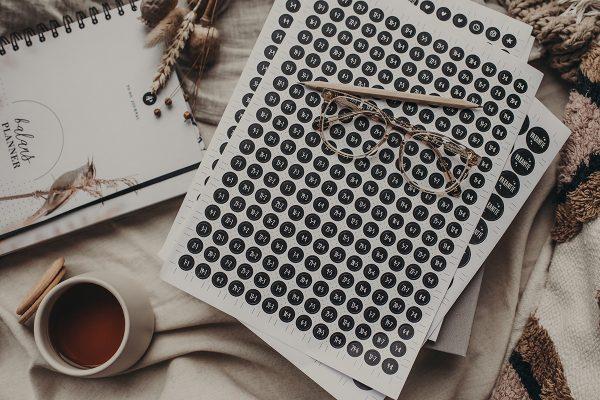Set datastickers