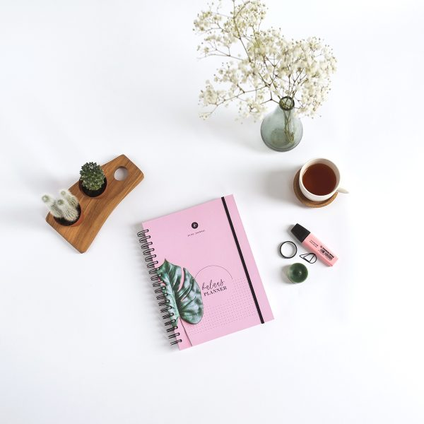 Balans Planner roze